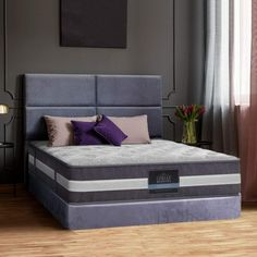 🛍LAY DOWN FOR LESS At #MATTRESSOFFERS - FOR YOUR BEAUTIFUL HOUSE🛍  Giselle Bedding King Single Mattress Bed Size 7 Zone Pocket Spring Medium Firm Foam 30cm   Pamper yourself with our Giselle Bedding Lotus Series Tight Top Mattress that will give you a soothing sleep night after night.  #kingsinglemattress #afterpaymattress #wintersale Euro Top Mattress, King Size Mattress, Pillow Top Mattress, Queen Mattress, Queen Size Bedding, Foam Mattress, Bed Pillows, Vacuum Packaging