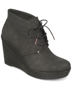 Dr. Scholl's Bethany Wedge Booties - Shoes - Macy's