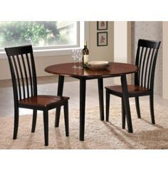 60 quot dining table amp 6 chairs dinettes dining rooms michigan dark wood living dining room furniture large