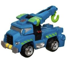 Hoist the Transformers Rescue Bot