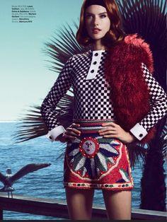 awesome Vogue Brasil | Editorial Moda Março 2013 | Alessandra Ambrósio por Fabio Bartelt