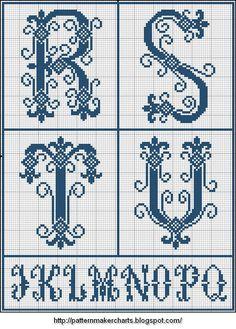 Free Easy Cross, Pattern Maker, PCStitch Charts + Free Historic Old Pattern Books: Sajou No 202