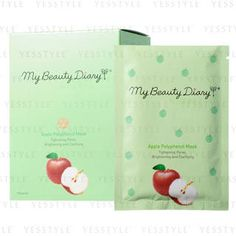 Buy 'My Beauty Diary – Apple Polyphenol Mask (English Version)' with Free International Shipping at YesStyle.com. Browse and shop for thousands of Asian fashion items from Taiwan and more!