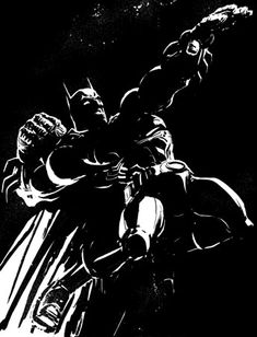Frank Miller: A brutal Dark Knight. I Am Batman, Batman Art, Batman Comics, Comic Book Artists, Comic Artist, Comic Books Art, Frank Miller Art, Dark Comics, Dark Knight Returns
