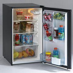"Avanti AR4446B 20"" Freestanding Compact Refrigerator with 4.5 cu. ft. Capacity, in Black"
