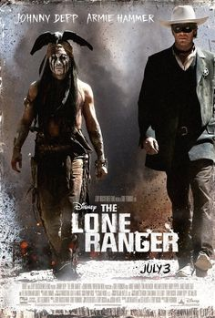 """I love, love, love Johnny Depp - but if they are making a film called """"The Lone Ranger"""", wouldn't that character be the one you should focus on?"""