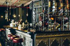 Steampunk Porthole | bar steampunk truth coffee cape town 2 Truth Coffee's: bar steampunk ...