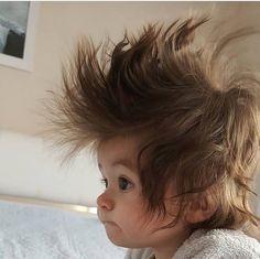 Awww Really bad Hair Day So Cute Baby, Baby Love, Cute Kids, Precious Children, Beautiful Children, Beautiful Babies, Funny Babies, Funny Kids, Cute Babies