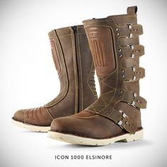 Just love these a different look to traditional biker boots from http://www.bikeexif.com/classic-motorcycle-boots
