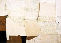 """Alberto Burri, """"Composition In White"""""""