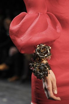 Lanvin - beautiful details.