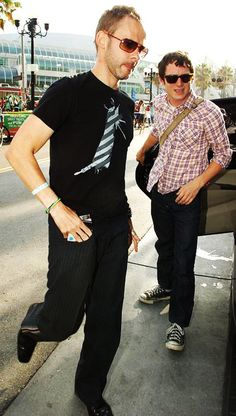 Dominic Monaghan and Elijah Wood