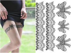 tatuaje encaje - Buscar con Google
