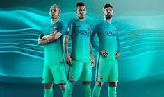 Nike presenta la tercera camiseta del FC Barcelona 2016-17