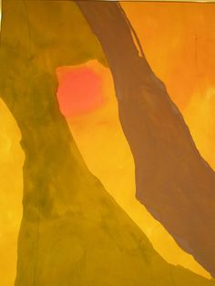 Helen Frankenthaler 'Pistachio', 1971, Chazen Museum of Art, Madison, Wisconsin by hanneorla, via Flickr
