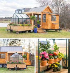Olive Nest Tiny Homes has built a tiny mobile home named Elsa.