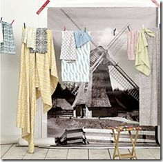 Clothesline for more than just clothes