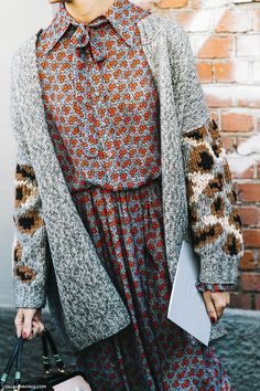 love the sweater! from Milan Fashion Week Spring Summer 2016 Street Style