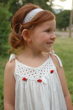 Hair for the Mini Diva: Summer Wedding curly toddler girl hair in headband wrap - Frisuren für L. Cute Little Girl Hairstyles, Flower Girl Hairstyles, Summer Hairstyles, Cute Hairstyles, Toddler Hairstyles, Girl Haircuts, Wedding Hairstyles, Headband Wrap, Baby Girl Hair