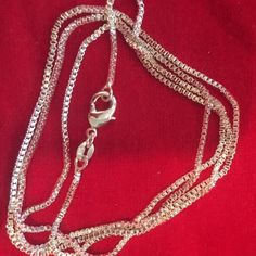 925 sterling silver box chain neck 1.4 mm 28 inch. Brand new, lowest price unless bundled !!!!! Jewelry Necklaces