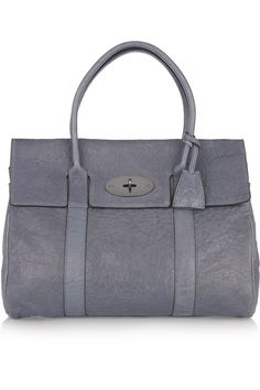 I love this colour - Mulberry | Bayswater textured-leather bag