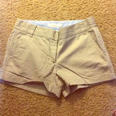 "Jcrew khaki shorts 3"" Jcrew khaki shorts size 4 J. Crew Other"