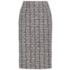 Alexander McQueen Tweed Pencil Skirt (8.315 ARS) ❤ liked on Polyvore featuring skirts, black, alexander mcqueen skirt, knee length pencil skirt, pencil skirts, alexander mcqueen and tweed skirt