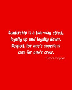 Leadership as a parent be loyal to your child if you expect them to be loyal to you