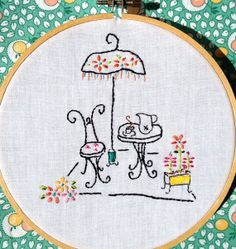 Instant Download PDF Hand Embroidery Pattern by Thimblegirls, $5.00