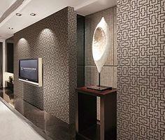 Hanmero 3D diseño papel pintado moderno con geometría cuadrícula, vinilo papel de pared pintado para salón, pasillo,hotel, color marrón, 0.53M*10M, http://www.amazon.es/dp/B015S8ZY5O/ref=cm_sw_r_pi_n_awdl_pMENxbEGSDJ4H