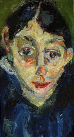 Chaim Soutine, La folle on ArtStack #chaim-soutine #art