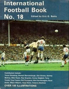 International Football Book No. 18 in 1981 featuring England v Scotland on the cover.