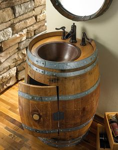 Made From An Old Wine Barrel