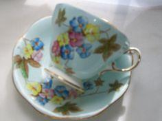 Vintage teacup  Foley teacup   china teacups  by NewtoUVintage