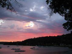 Orca island sunset from My honeymoon :)