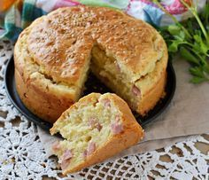 You really make this savory cake faster than lettuce –.- You& really make this savory cake faster than lettuce – just mix everything, bake a baking tin and in half an hour you have an excellent savory treat or a great bread replacement. No Salt Recipes, Cooking Recipes, Baking Tins, Happy Foods, Savoury Cake, Quiches, Italian Recipes, Food To Make, Good Food