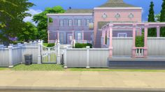 What a Sim House blog: Pinkerdilly Road 3