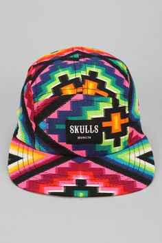 ad088156b1a SKULLS Raza 5-Panel Hat Snapback Hats