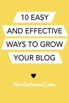 10 Easy and Effectiv