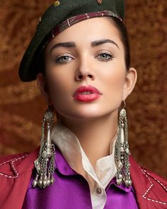 FEMINA cover story with actress Amy JacksonPost production Jatin Lulla Amy Jackson, Apple Watch Cuff, Korean Beauty Girls, Beautiful Blonde Girl, Lovely Eyes, Look Into My Eyes, Star Girl, Cute Beauty, Beautiful Indian Actress