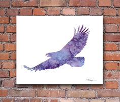 Eagle 2 Abstract Watercolor Painting 11 x 14 Art Print by Artist DJ Rogers - Eagle Art - Ideas of Eagle Art - Eagle 2 Abstract Watercolor Painting 11 x 14 Art Print by Artist DJ Rogers Price : Abstract Watercolor, Watercolor Paintings, Watercolor Tattoos, Painting Art, Watercolors, Eagle Artwork, Sunset Art, Space Tattoos, Owl Tattoos