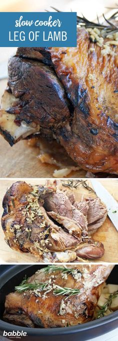This Leg of Lamb recipe is as simple as cooking food gets. You can get a high-quality dish for minimum effort. Placing a leg of lamb in the oven is awkward because of its shape, which is why using a slow cooker is the perfect solution. It'll ensure that the meat cooks to a fall-off-the-bone consistency. Add some potatoes into the Crock Pot for extra flavoring. Serve this at your next dinner party to impress all of your guests! Click for the full recipe.