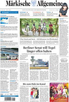 Samstag, 5. Mai 2012 - Berlin will Flughafen Tegel länger offen halten » http://www.maerkischeallgemeine.de/cms/beitrag/12322227/62249
