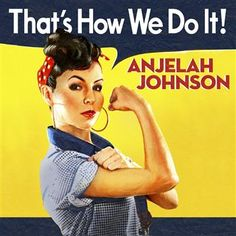 ♥ Anjelah Johnson she's one of my favorite comedians hilarious Anjelah Johnson, Mad Tv, Funny Comedians, Rosie The Riveter, We Can Do It, Comedy Central, Up Girl, Cali Girl, Oakland Raiders