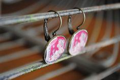 Wisps of Summer Earrings. $12.00, via Etsy.