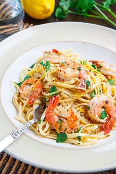 "One of the finest Shrimp Scampi recipes I've ever tried. I thought it was going to be too much lemon flavor, but - WOW - what great balance it strikes! If you don't want to taste any lemon in your scampi, this is not for you; however if followed to a ""T""....it IS amazing."