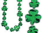 36 inch Shamrock  Necklaces
