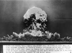 Atomic Explosion, Yucca Flat, Nevada, 1953