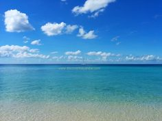 Beautiful morning in Dominicus on the public beach. Perfect, crystal clear Caribbean sea :)