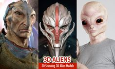 Alien Models : Whenever we look at the stars or other planets, we yearn to know if there other kind of alien beings living up there. People spread rumors that UFOs were cited in the early e Alien Character, Game Character, Zbrush Models, Hero Games, 3d Girl, 3d Artwork, Look At The Stars, Creature Design, Marvel Heroes